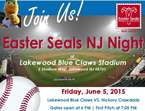 Easter Seals NJ Night at Lakewood BlueClaws