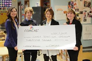 New Photo & Video from our Press Conference to announce the new Mobile Technology Lab, a Comcast Funded Program