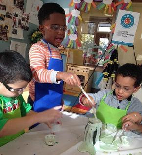 Budding Little Scientists at Angle Lake CDC