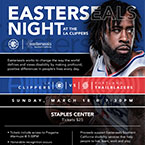 Easterseals Los Angeles Clippers basketball game fundraiser