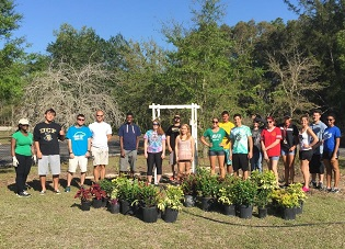 FGCU Students - Group Picture