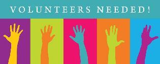 Volunteers needed graphic