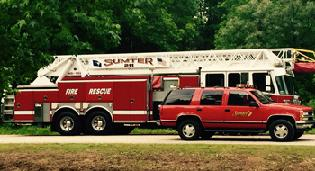 Sumter Firefighter's for raise BIG in the 2015 Lily Campaign.