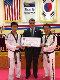 U.S. Tae Kwon Do Centers Donate Proceeds to Easter Seals Massachusetts