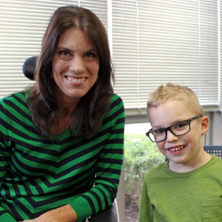 2019 Easterseals Ambassadors Michelle Schmitt and Sam Osborne
