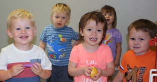 Picture of a group of five children.