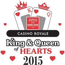 2015 Casino Royale King and Queen of Hearts Gala