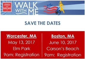 Join us for our 2017 Walk With Me Events
