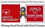Katy's Goodness November Campaign for Vets