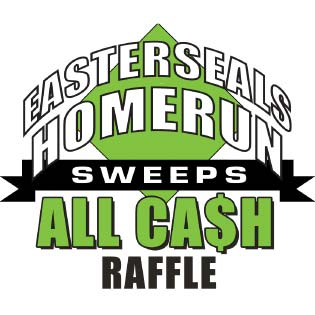 Easterseals Home Run Sweeps All Cash Raffle logo