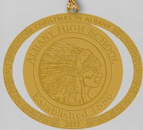 Albany High School Ornament