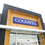 photo of Goodwill store entrance