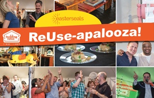 Picture of people at ReUse-apalooza