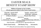 Easter Seals Stamp Club Show