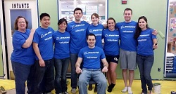 Boeing Engineers Career Foundation Group Volunteers with ESW
