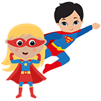 Be a Superhero...Donate to An Evening as a Child!