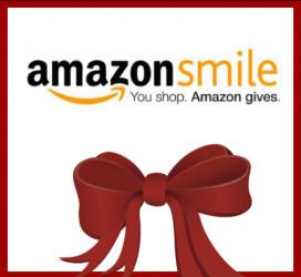 Amazon Smile logo with bow