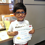 Aman gives to Easter Seals Central Texas