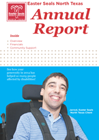2014 Easter Seals North Texas Annual Report Now Available.