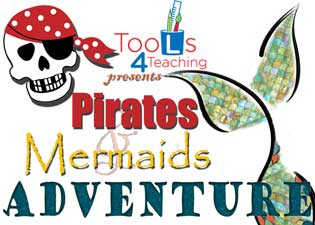 Pirates & Mermaids Adventure logo