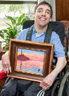 Jarrod, Easter Seals North Texas Community Living and Support Services (CLASS) program client