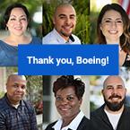 Boeing Grant Announcement