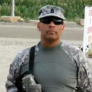 Easterseals Job Developer Karl Williams during his Army years.
