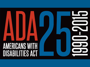 Celebrate the 25th Anniversary of the Americans with Disabilities Act with Easter Seals.