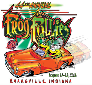 Frog Follies logo
