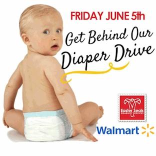 Easter Seals Louisiana & WalMart partner for Diaper Drive