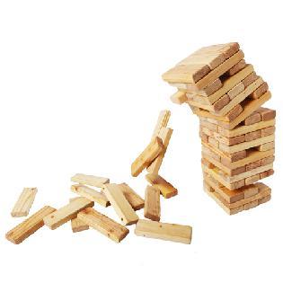 Building Ability tailgate jenga