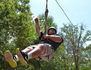 Camp Challenge, camping, florida, disabilities, easterseals