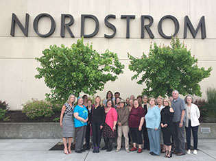 Easterseals clients at Nordstrom