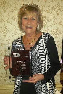Beth English wins Advocate of the Year Award