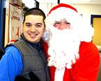 Santa visits ESCF
