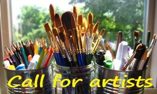 Inspiration Through Art Call For Artists graphic