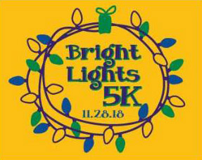 Bright Lights 5K logo
