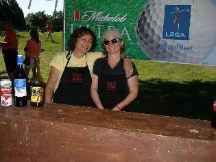 Photo of volunteers at LPGA golf