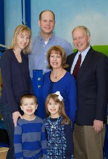 Easterseals Tribute dinner honorees, Wayne & Beth Kinney and Ryan & Jule Burczyk