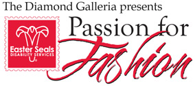 Logo for The Diamond Galleria presents Passion for Fashion