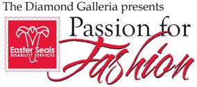 Logo for The Diamond Galleria presents Passion for Fashion