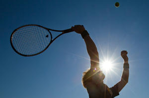 Tennis event benefits veterans served by Easter Seals TriState