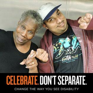 Celebrate Don't Separate Ad Campaign
