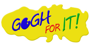 Gogh For It! logo graphic