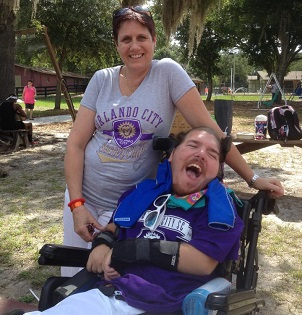 Caregiver & Camper in Orlando City Gear