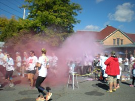 Splash of Color Family Fun Run