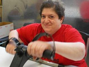 Exercise class for individuals served at Easter Seals TriState