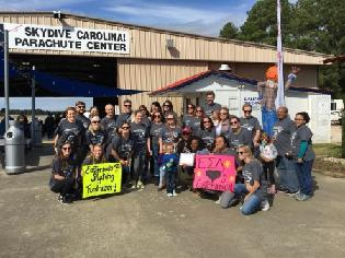 Skydive for Easterseals and Autism Services of SC