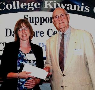 CDC receives grant from Kiwanis Club