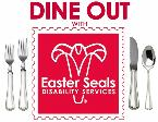 Dine Out with Easter Seals Logo
